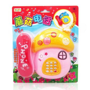 Wawawei Children's Fun Music Phone Toy Gift Development Toys #33491 Price Philippines