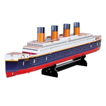 WiseBuy Educational 3D Model Movie Titanic Ship DIY Toy 30 Pcs