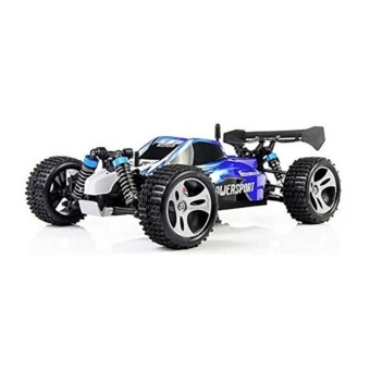 Wltoys A959 Vortex 1/18 2.4G 4WD Electric RC Car Off-RoadIndependent Suspension Buggy RTR-Blue - intl