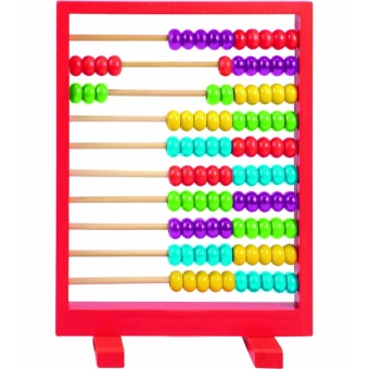 Wooden Abacus Counting Toy - Educational and Therapeutic for Kids