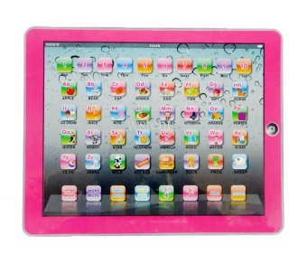 Y-PAD English Computer Multimedia Learning Toy Computer (Pink) Price Philippines