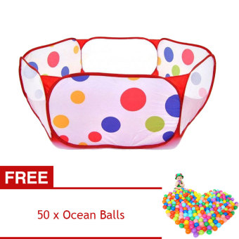 YBC Ocean Ball Play Tent Pool for Kid Swim Outdoor Fun Toy [Buy 1Get 1 Free] Price Philippines