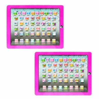 Ypad Multimedia Learning Computer Toy Tool (Pink) Set of 2 Price Philippines