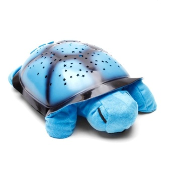 Zover Baby-Tortoise Sleep Lamp Projector Kids Toys Musical TwilightSea Turtle Constellation Night Light Lamp (Blue) Price Philippines