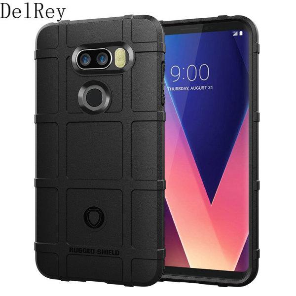 Phone Case For LG V60 V50S V40 ThinQ V35 V30S Plus V30S ThinQ PlusCase Giáp Ốp lưng silicon mềm Bảo vệ Chống va đập Chống trượt Vỏ điện thoại