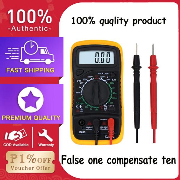 LCD Digital Multimeter Measure Up XL830L Voltmeter Ammeter Ohmmeter Multi Tester HOLDPEAK Manual