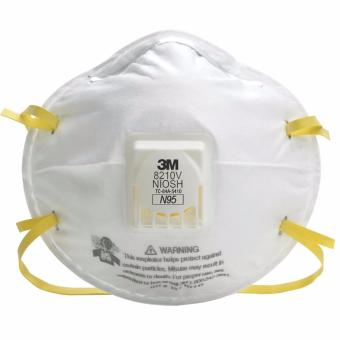 20PCS 3M 8210V N95 Particulate Respirator w/ Cool Flow Valve DustFace Mask Respiratory Protection