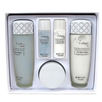 3W Clinic Collagen White Skincare Set (5 pcs) Korean Cosmetics Price Philippines