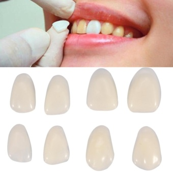 70PCS Temporary Teeth Veneers Resin Anterior For Dental Oral Care - intl