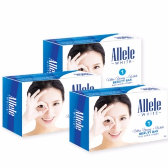 Allele White Ultra Young + White Beauty Bar Set of 3