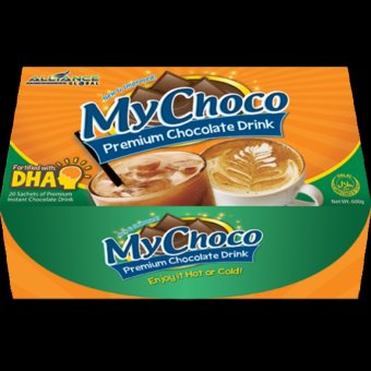 Alliance Global My Choco Alkaline Chocolate Drink Box of 20 Price Philippines