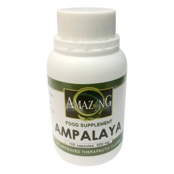 Amazing Food Supplement Ampalaya 500mg Capsules Bottle of 100