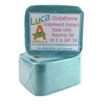 Arella Organic Luca Glutathione Facial & Body Soap with Gift Price Philippines