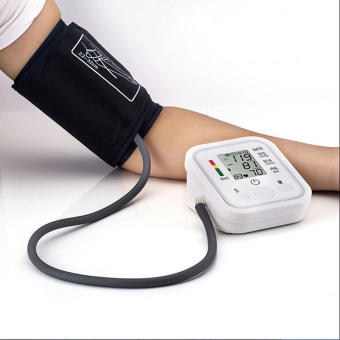 Arm Blood Pressure Pulse Monitor Health Care Digital UpperSphygmomanometer