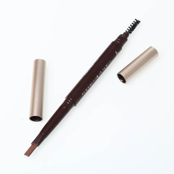 Aukey new style-Rotatable Waterproof Eye Brow Eyeliner Eyebrow Pencil With Brush Makeup Tool - intl