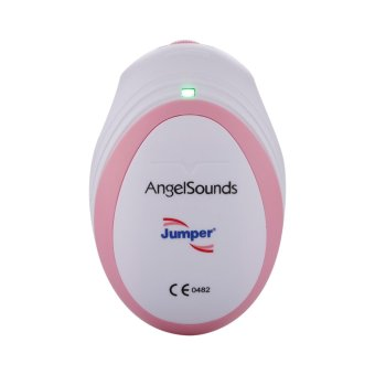 Baby Fetal Doppler AngelSounds Heart Monitor 3MHz Probe USB Cable+earphone