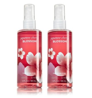 Bath and Body Works Japanese Cherry Blossom Fragrance Mist 88ml Setof 2
