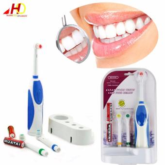 Battery Operated Electric Toothbrush RS-G07 (Blue)