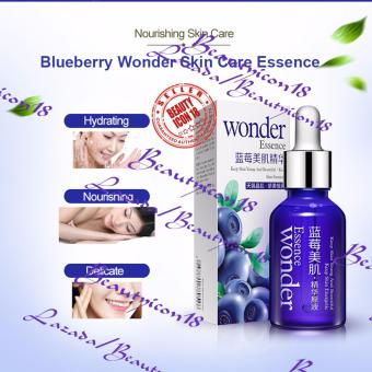 Bioaqua Blueberry Wonder Essence For Face Skin Care Effect Plant Extract Serum 15ml