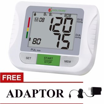 Blood Pressure Monitor with FREE Adaptor