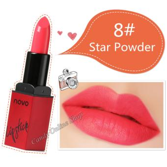 Candy Online Korea NOVO Smooth Lipstick does not stick the cup does not fade moisturizing lipstick #8