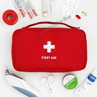 Candy Online Shop First-Aid Pouch Large Red