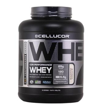 Cellucor COR-Performance Whey Protein Shake: Lean Muscle Builder -4lbs - Strawberry Milkshake