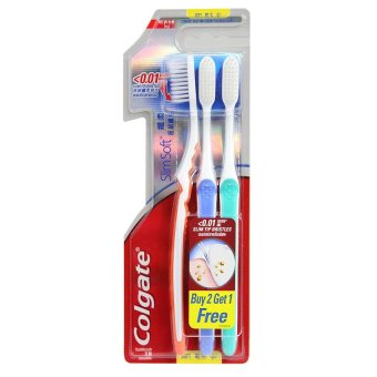 Colgate Slim Soft Toothbrush (Soft) Buy 2, Get 1 Free