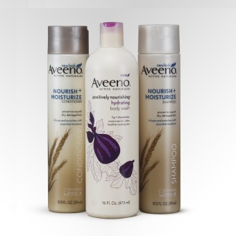 Corporate Aveeno Christmas Gift Box