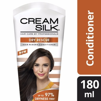 CREAM SILK HAIR CONDITIONER DRY RESCUE 180ML .