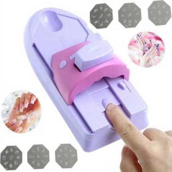 The Price Of Diy Nail Art Tool Machine Stamping Printing Colors
