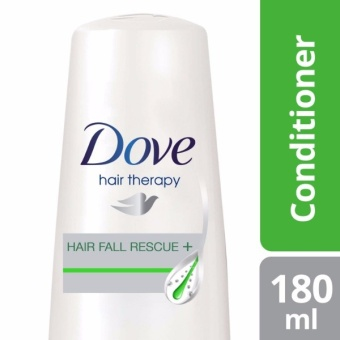 DOVE HAIR CONDITIONER HAIR FALL RESCUE 180ML .