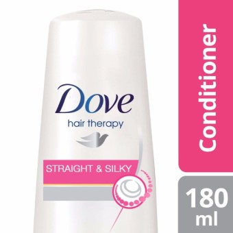 DOVE HAIR CONDITIONER STRAIGHT & SILKY 180ML