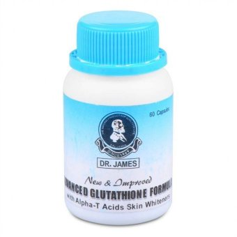 Dr. James Glutathione + Alpha Lipoic Acid 1000mg Capsules Bottle of 60