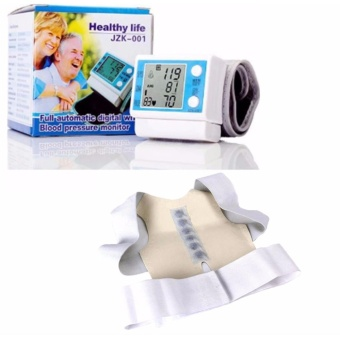 Electronic Full Automatic Digital Wrist Blood Pressure Monitor withPower Magnetic Posture Brace