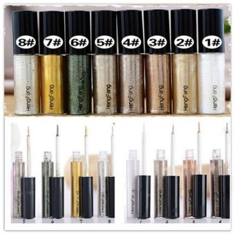 Fashion Eyeliner Eye liner Glitter Liquid Pencil Shiny Beauty Cosmetic 8colors - intl