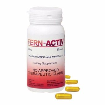 FERN ACTIV (Multivitamins and Minerals) 60 softgel capsules Price Philippines