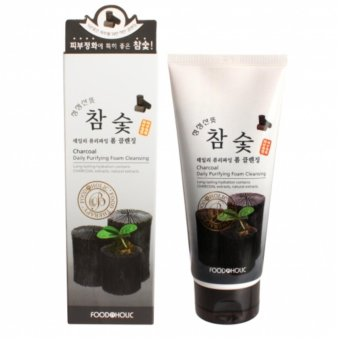 Foodaholic Charcoal Foam Cleanser 180ml Korean Cosmetics Price Philippines