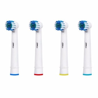 Genkent Toothbrush Head Replacement Fits For Oral B Precision Clean/Flexisoft (SEB-17