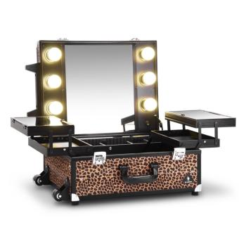 Gladking Philippines Regular Hollywood Vanity Trolley/ 9552K-ALP(Animal Leopard)