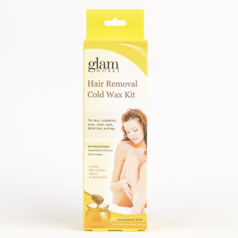 Glamworks Honey Hair Removal Cold Wax Kit 100g