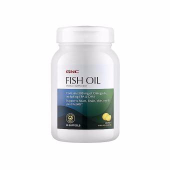 GNC Fish Oil - Lemon Flavored 90 Softgel Price Philippines