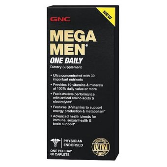 GNC Mega Men One Daily Multivitamins Price Philippines