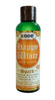 Happy White Ever After Spark Premium Whitening Massage & Bath Treatment Oil 100ml