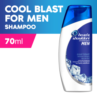 Head & Shoulders Cool Blast Shampoo for Men 70ml