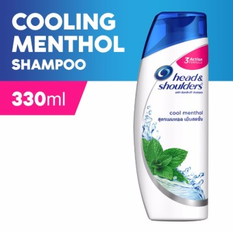 Head & Shoulders Cool Menthol Shampoo 330ml