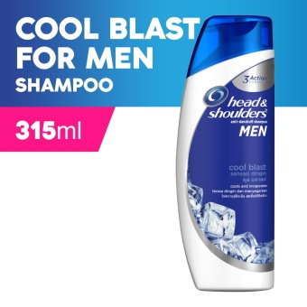 Head & Shoulders Cool Blast Shampoo for Men 315ml