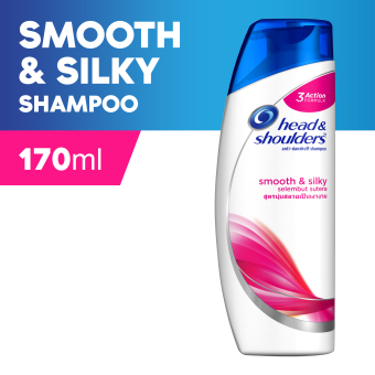 Head & Shoulders Smooth & Silky Shampoo 170ml
