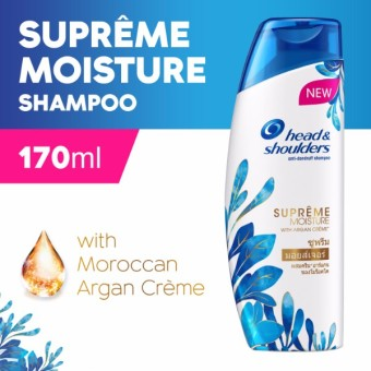 Head & Shoulders Supreme Moisture Shampoo 170ml