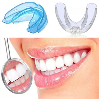 High-tech Dental Appliance Orthodontic Braces Retainer Soft Blue